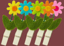 pinces-fleurs-feutrine